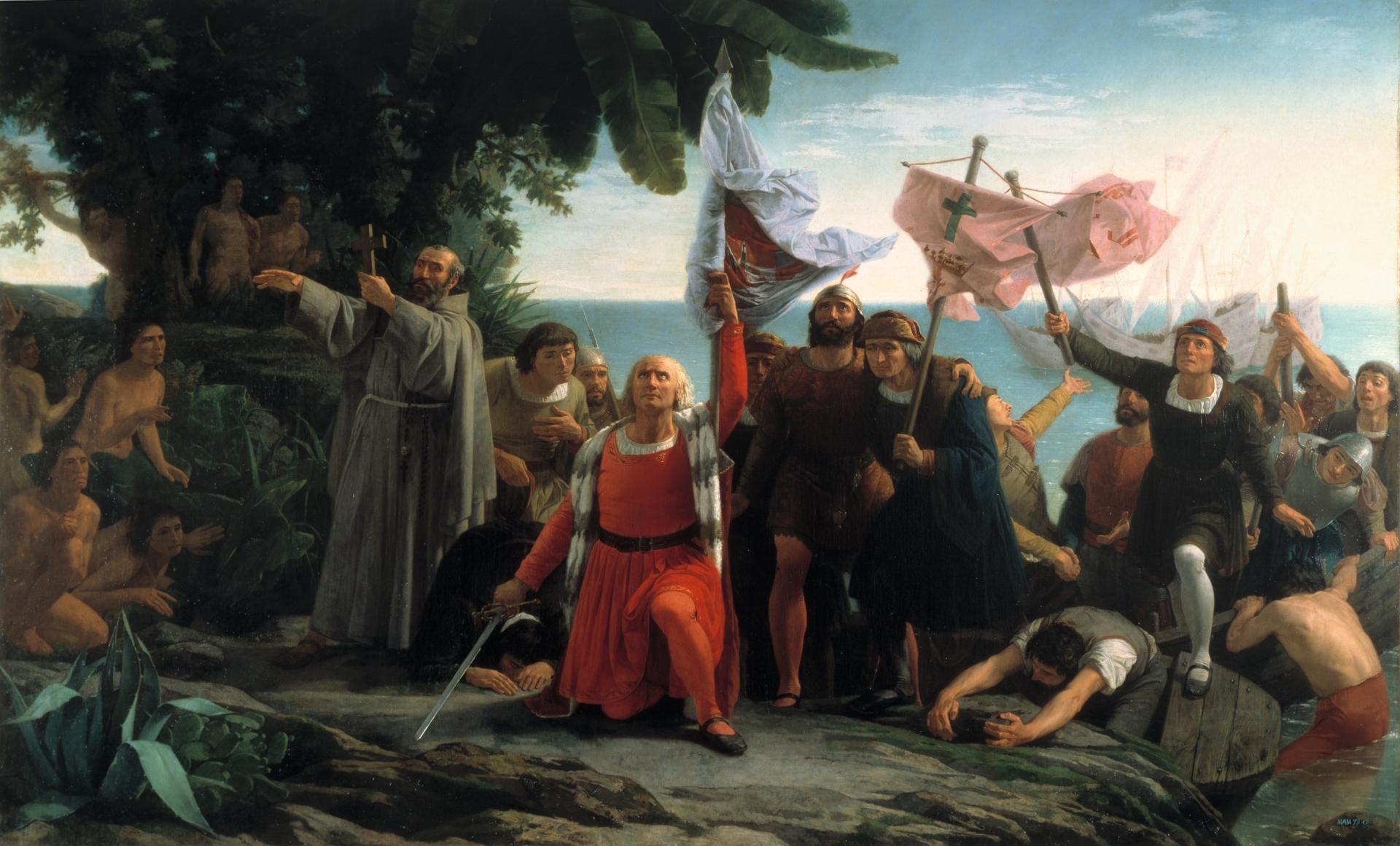 Han pasado 528 años desde que Cristóbal Colón posó sus pies sobre la isla de Guanahaní / Foto: WC