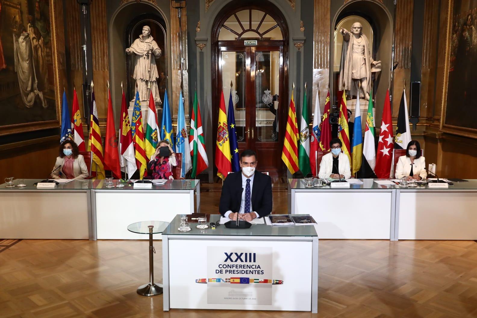 Pedro Sánchez delegó la administración del Estado de Alarma / Foto: Moncloa
