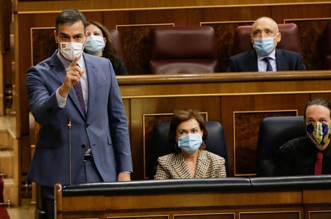 El PSOE y Podemos quieren reformar la Ley Orgánica del Poder Judicial / Foto: Moncloa