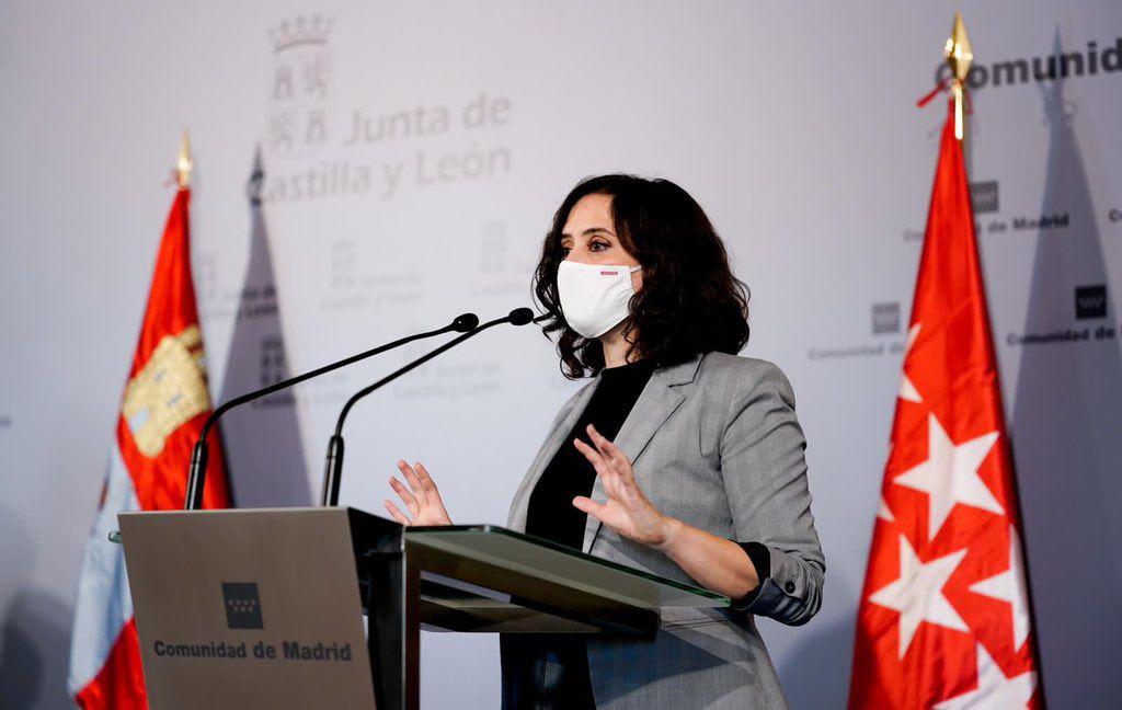 Isabel Díaz Ayuso ha tenido un enfrentamiento frontal con el gobierno / Foto: @IdiazAyuso