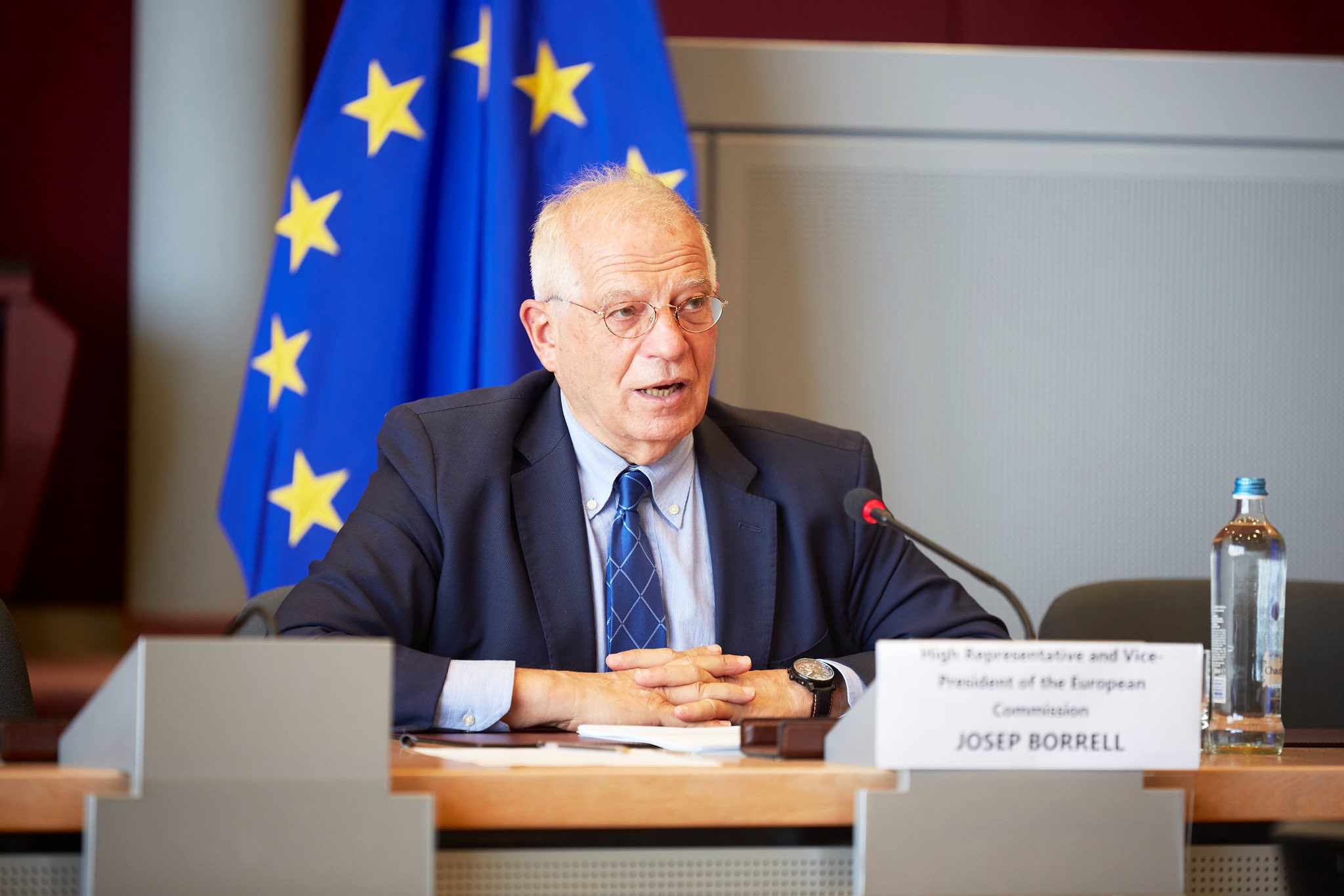 Borrell es un aliado institucional de la causa democrática venezolana / Foto: @JosepBorrellF