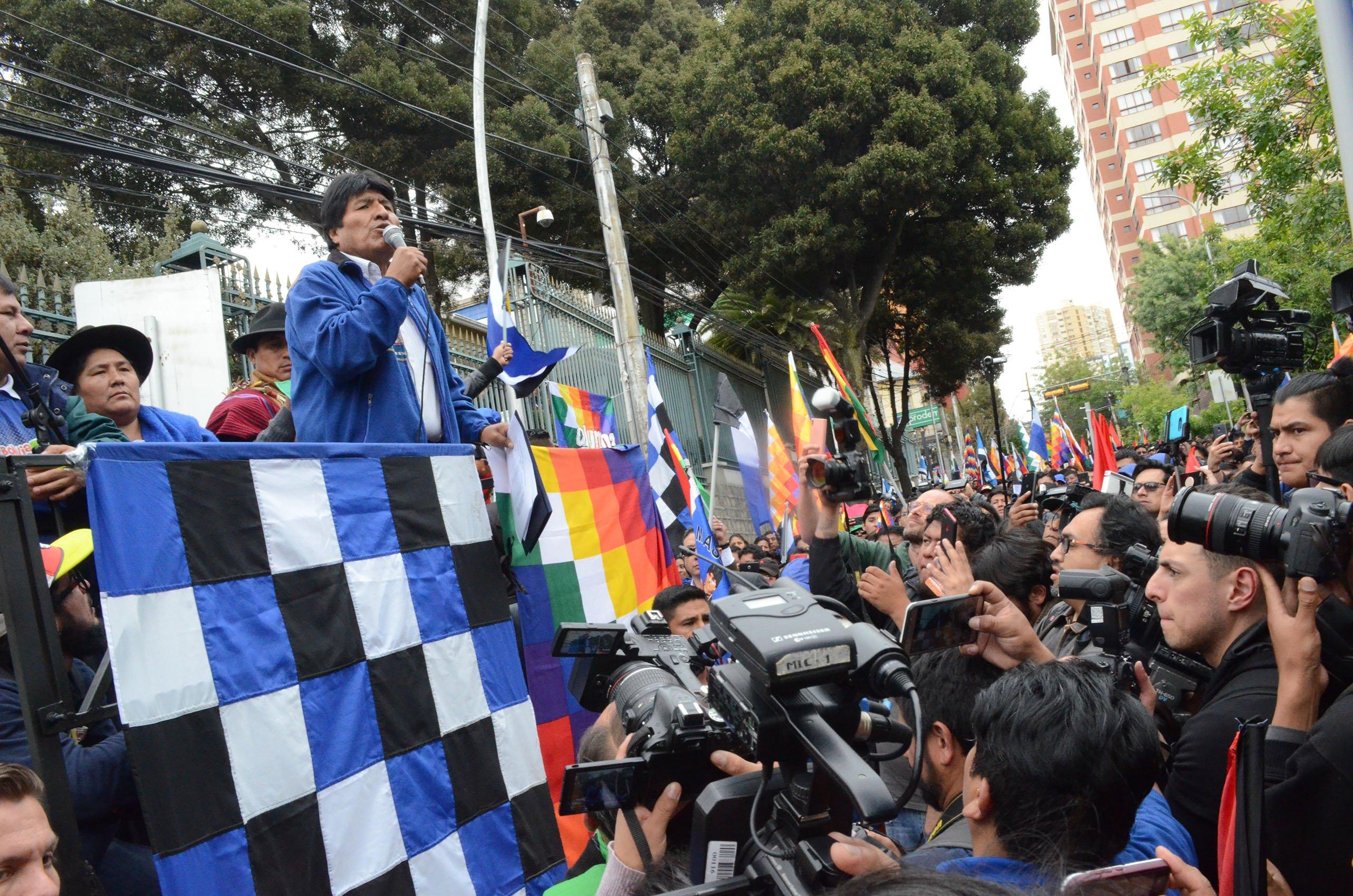 El regreso de Evo Morales a Bolivia es un tema polémico dentro del propio MAS / Foto: MAS