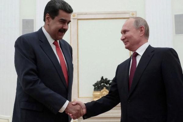 Maduro y Putin siempre hablan de la deuda / Foto: WC