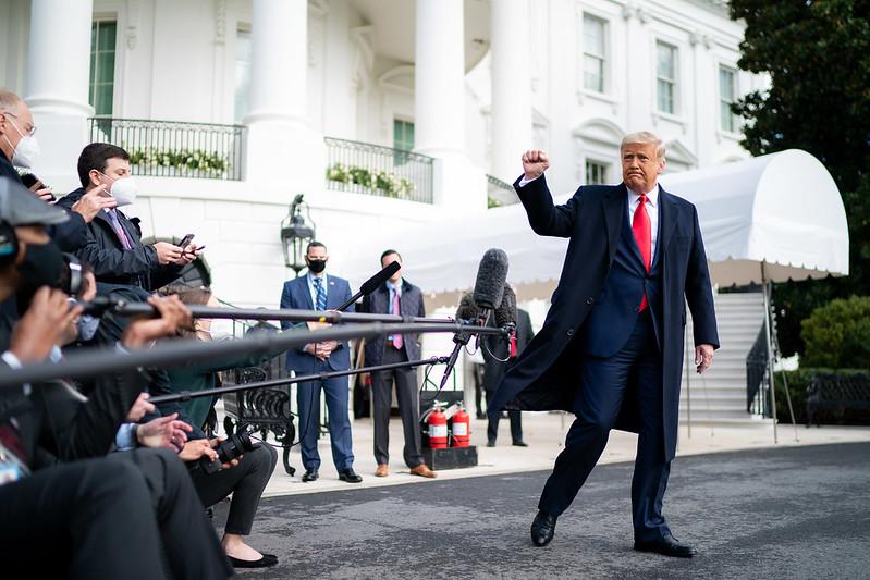 Los asesores de Trump dicen que el presidente ya mira a 2024 / Foto: Casa Blanca