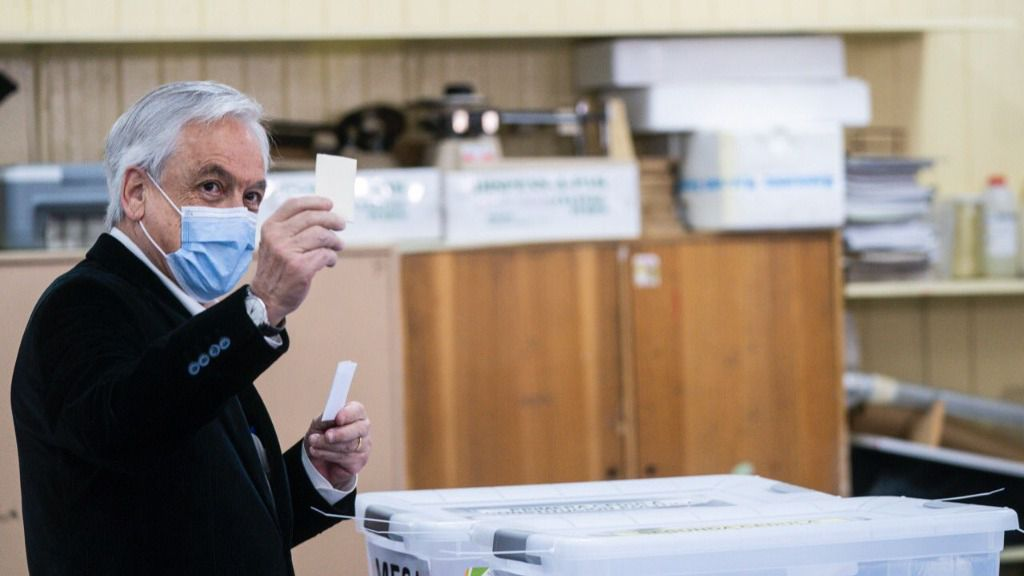"""Piñera le pide a Trump """"hidalguía"""" / Foto: Presidencia Chile"""