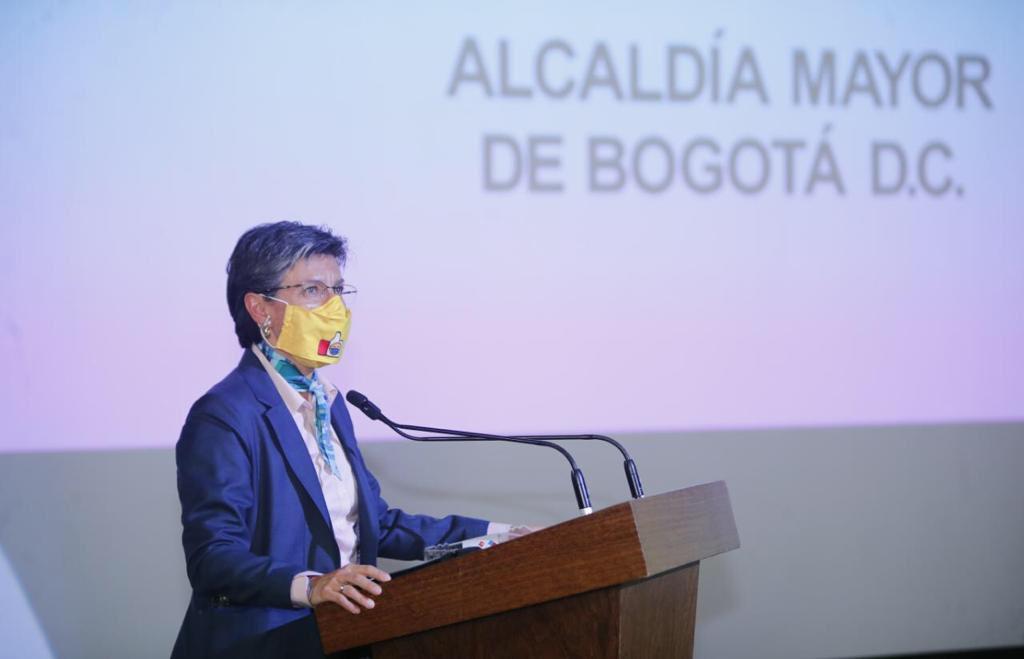 La postura de Claudia López le da mucha atención pública / Foto: @ClaudiaLopez
