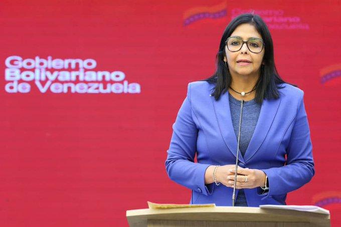 """Delcy Rodríguez anunció """"acciones"""" contra """"los especuladores cambiarios"""" / Foto: PrensaVE"""