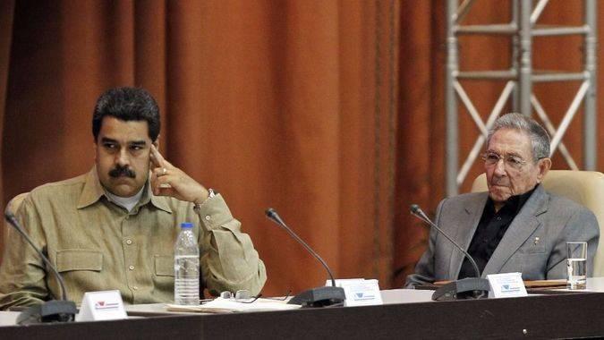 Maduro y Castro se justifican diciendo que enfrentan el acoso de EEUU / Foto: EFE