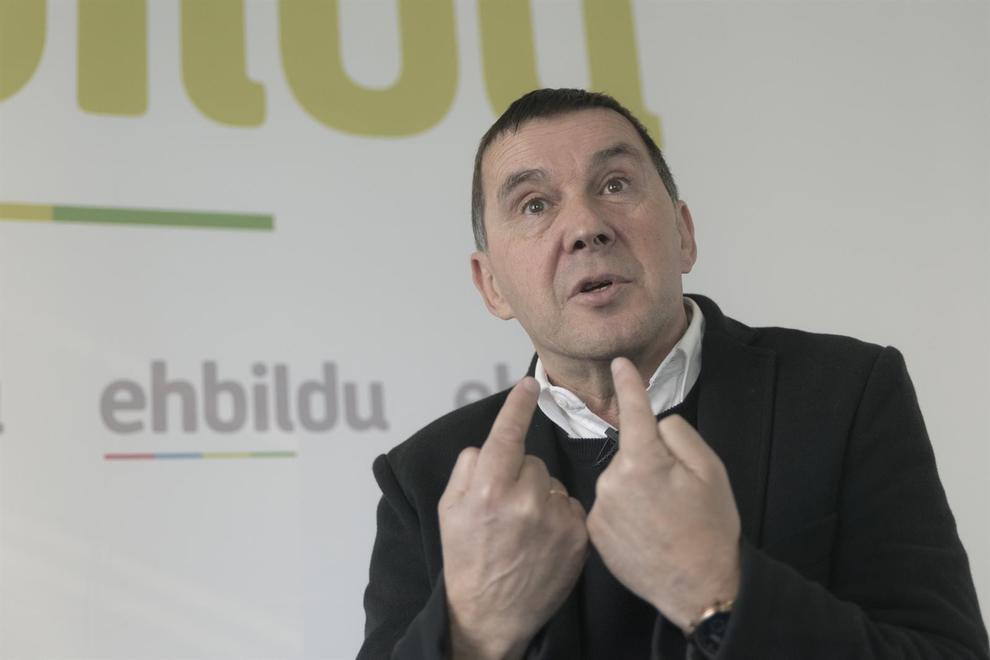 Arnaldo Otegi es el coordinador general de EH Bildu / Foto: Bildu