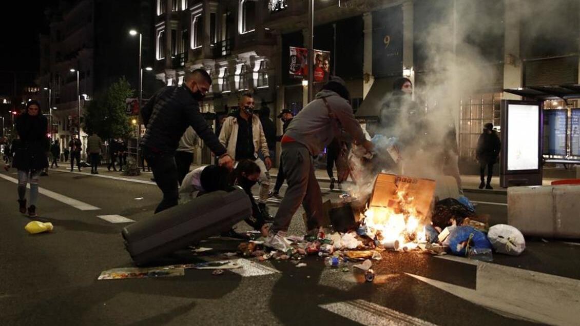 En España las protestas se iniciaron el viernes 30 de octubre / Foto: WC