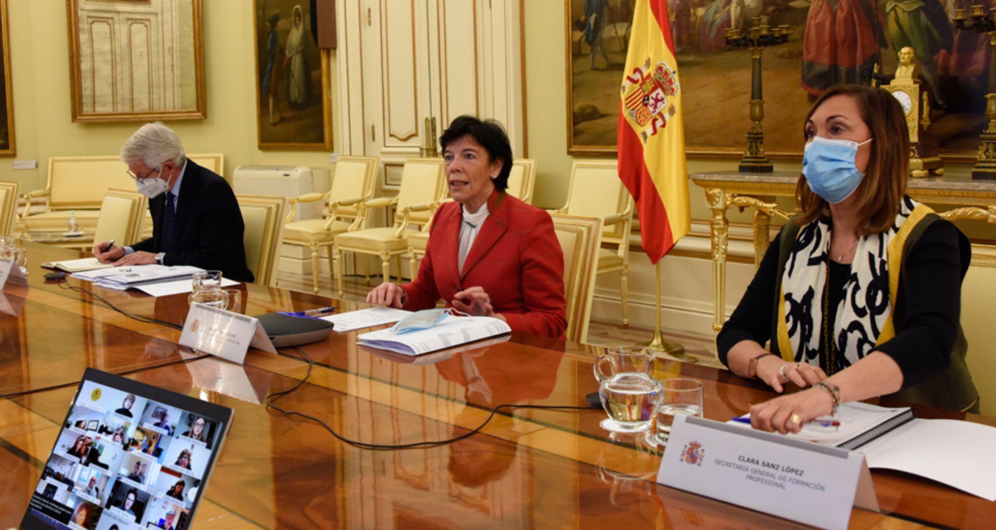 Isabel Celaá, ministra de Educación, impulsa esta nueva reforma / Foto: Min. Educación