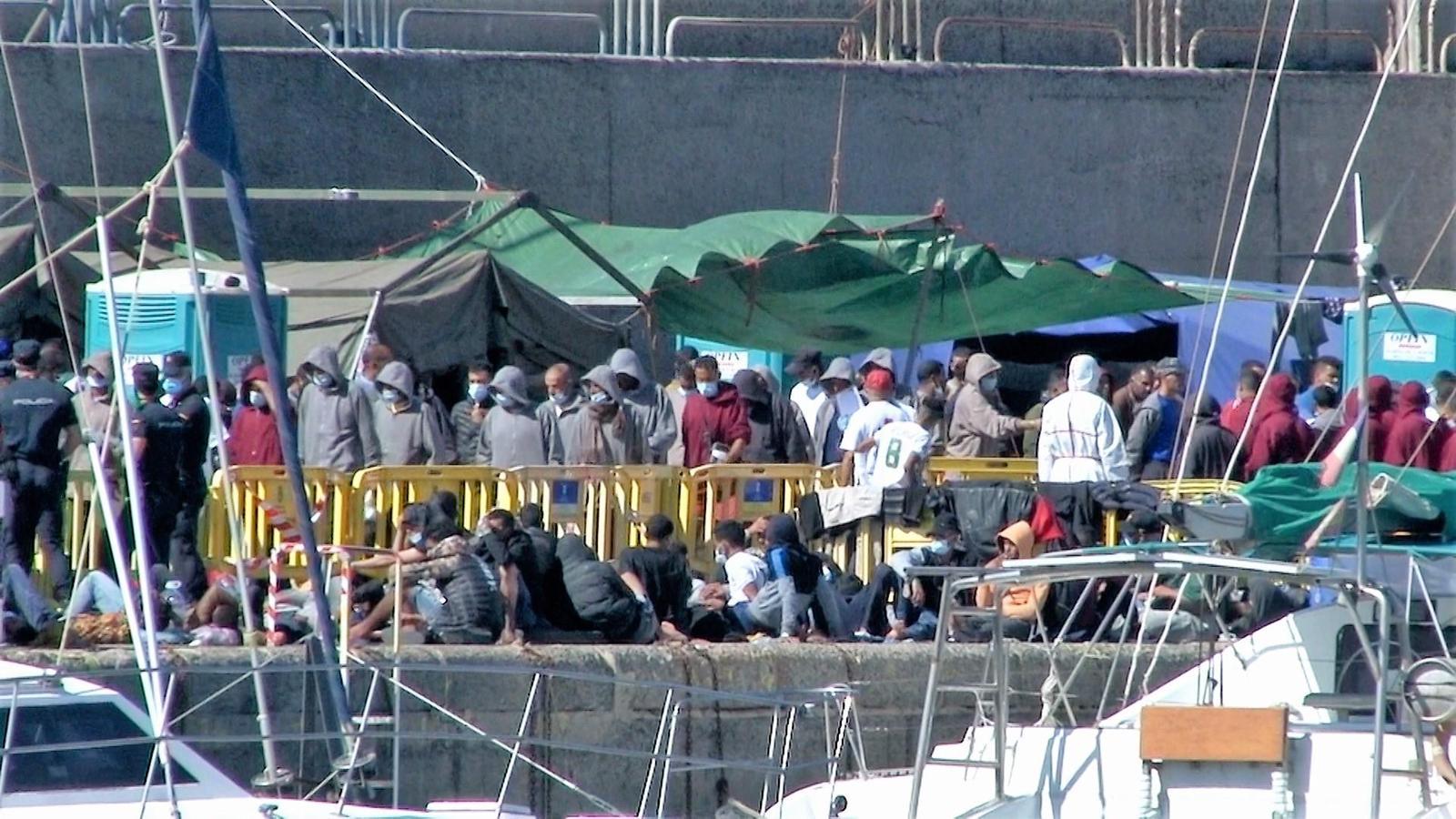 Durante el año 2020 ya han llegado a Canarias 16.760 migrantes / Foto: AMTC