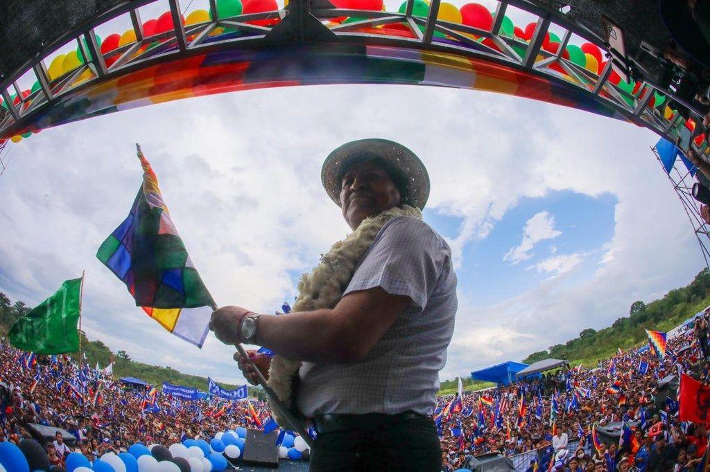 Morales es una figura que divide profundamente a los bolivianos / Foto: @evoespueblo