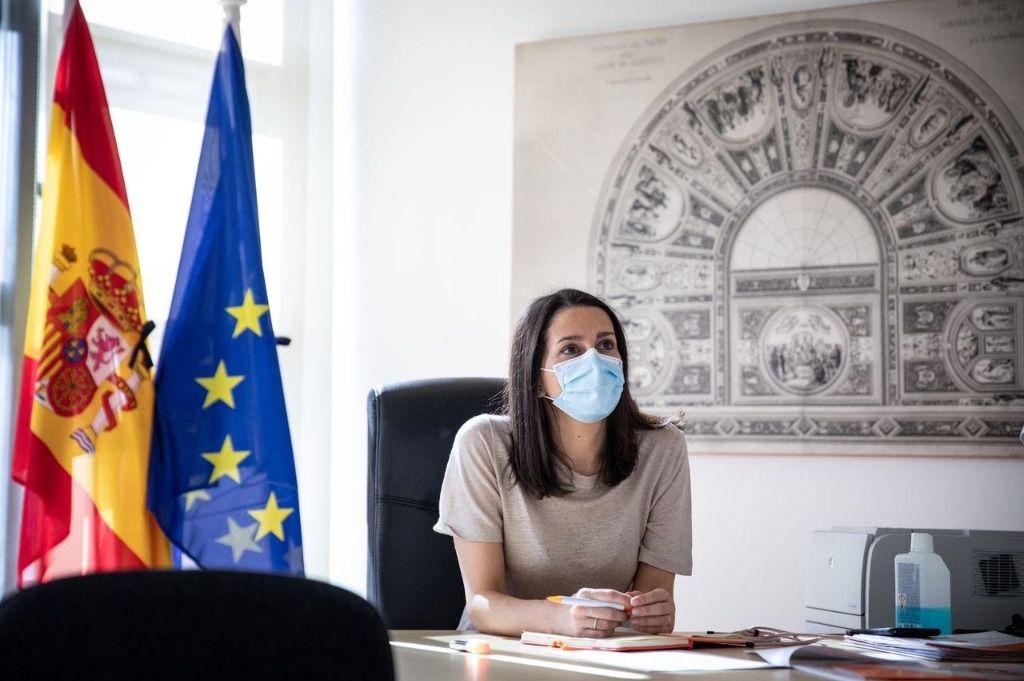 Inés Arrimadas mostró la mejor disposición para negociar / Foto: @InesArrimadas
