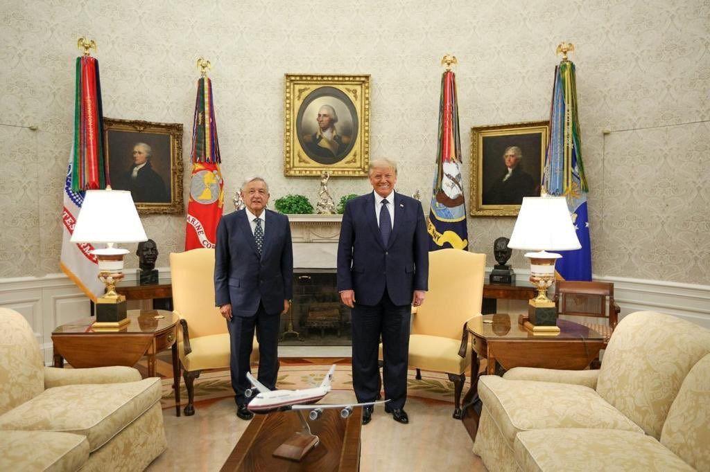 La relación entre Trump y AMLO ha resultado ser extraordinariamente fluida / Foto: Casa Blanca
