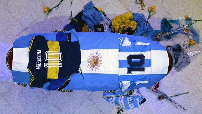 El funeral de Maradona terminó en fuertes disturbios en Buenos Aires / Foto: Casa Rosada