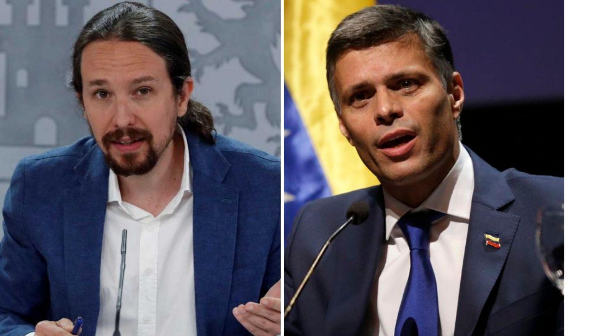 Unidas Podemos todavía no ha llamado a Leopoldo López / Foto: Moncloa/CCN