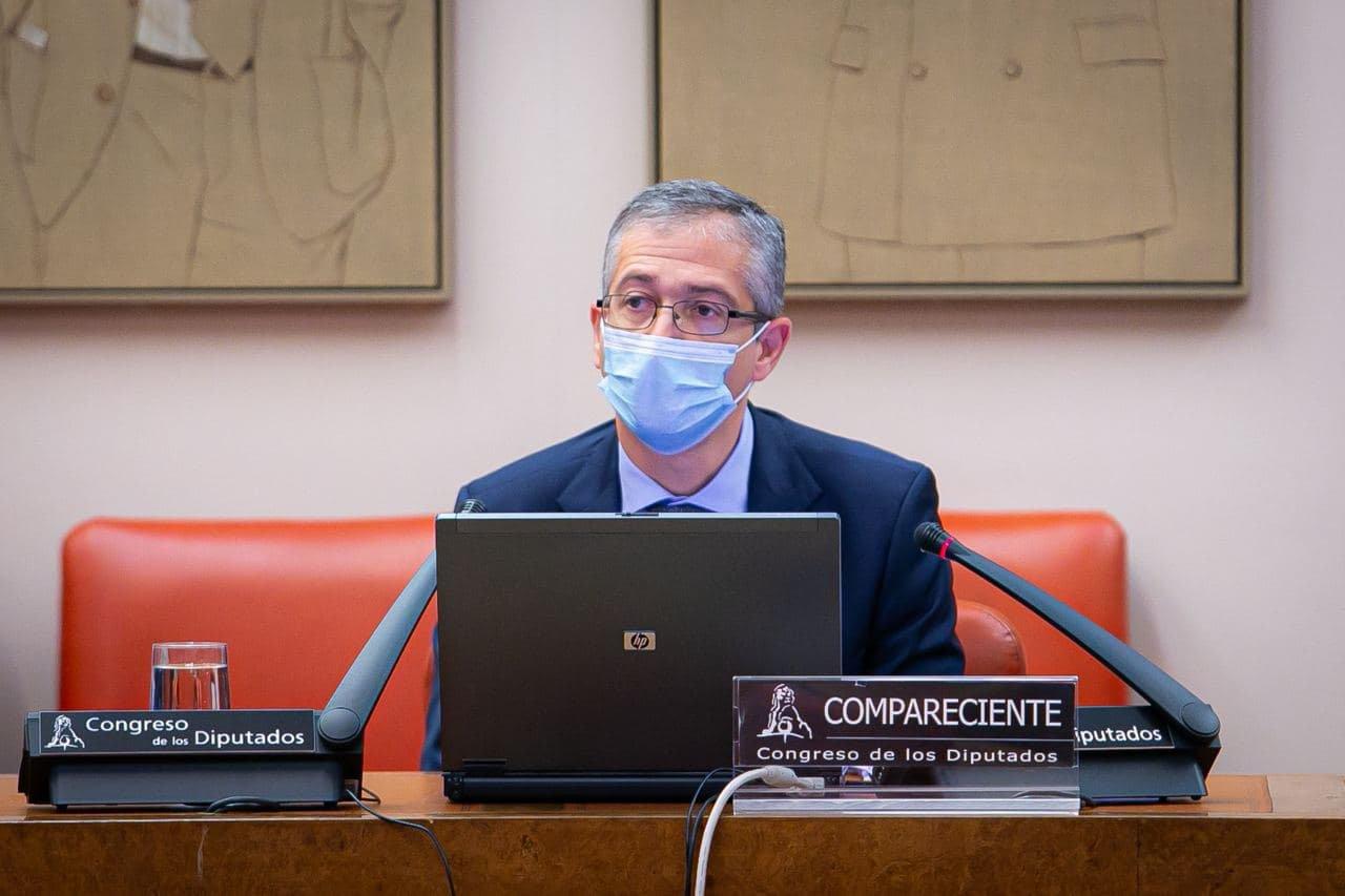 El gobernador del Banco de España ha realizado una enmienda al presupuesto / Foto: Congreso