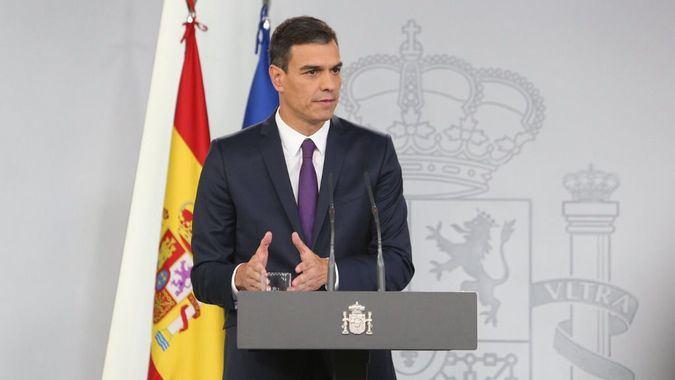 Pedro Sánchez no quiere ni confinamiento ni mando único / Foto: Moncloa