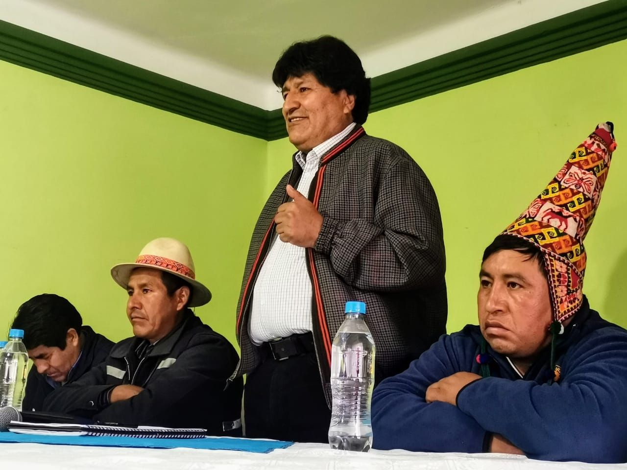 Morales insiste en tener la última palabra sobre los candidatos del MAS / Foto: @evoespueblo
