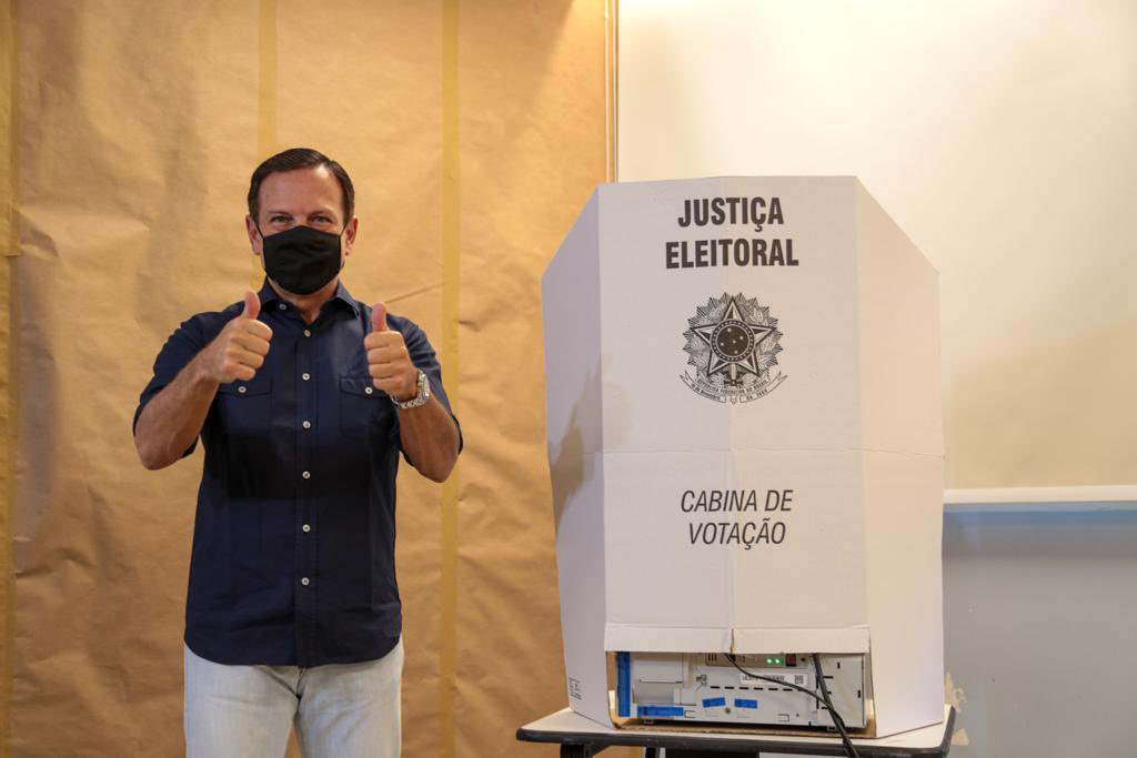 João Doria se ha convertido en el más visible opositor a Bolsonaro / Foto: @jdoriajr