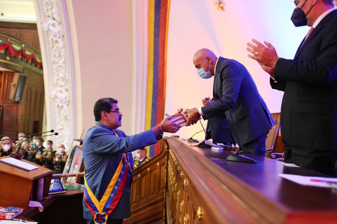 Jorge Rodríguez es la pieza clave en el plan de Maduro / Foto: PrensaVE