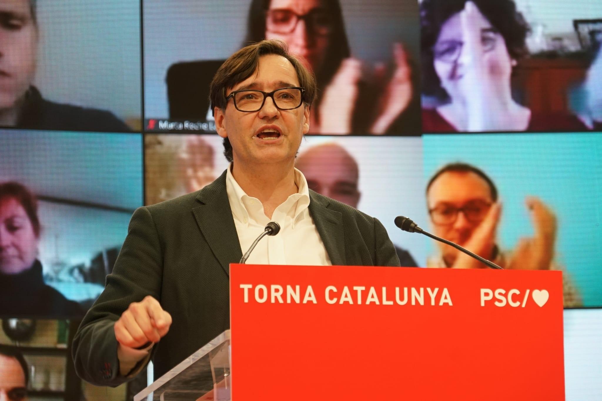 La postulación de Salvador Illa ha movido el tablero político catalán / Foto: PSC