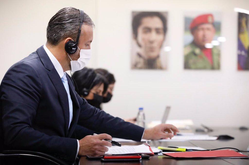 El Aissami destaca la buena relación entre Venezuela y Turquía / Foto: Ministerio del Petróleo