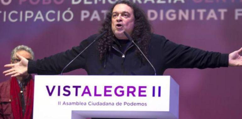 Fernando Barredo es líder de una corriente crítica dentro de Podemos / Foto: Podemos