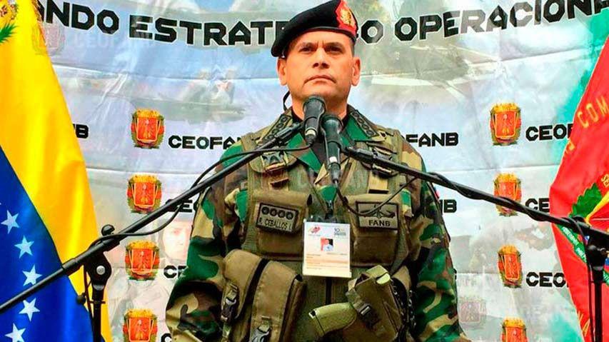 Remigio Ceballos también fue sancionado por EEUU / Foto: FANB