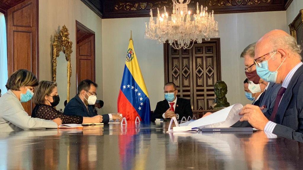 La UE dice que la expulsión de su embajadora aísla más a Venezuela / Foto: Cancillería Venezuela