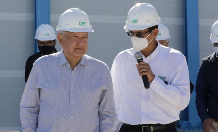 López Obrador pretende fortalecer a la Comisión Federal de Electricidad / Foto: Presidencia