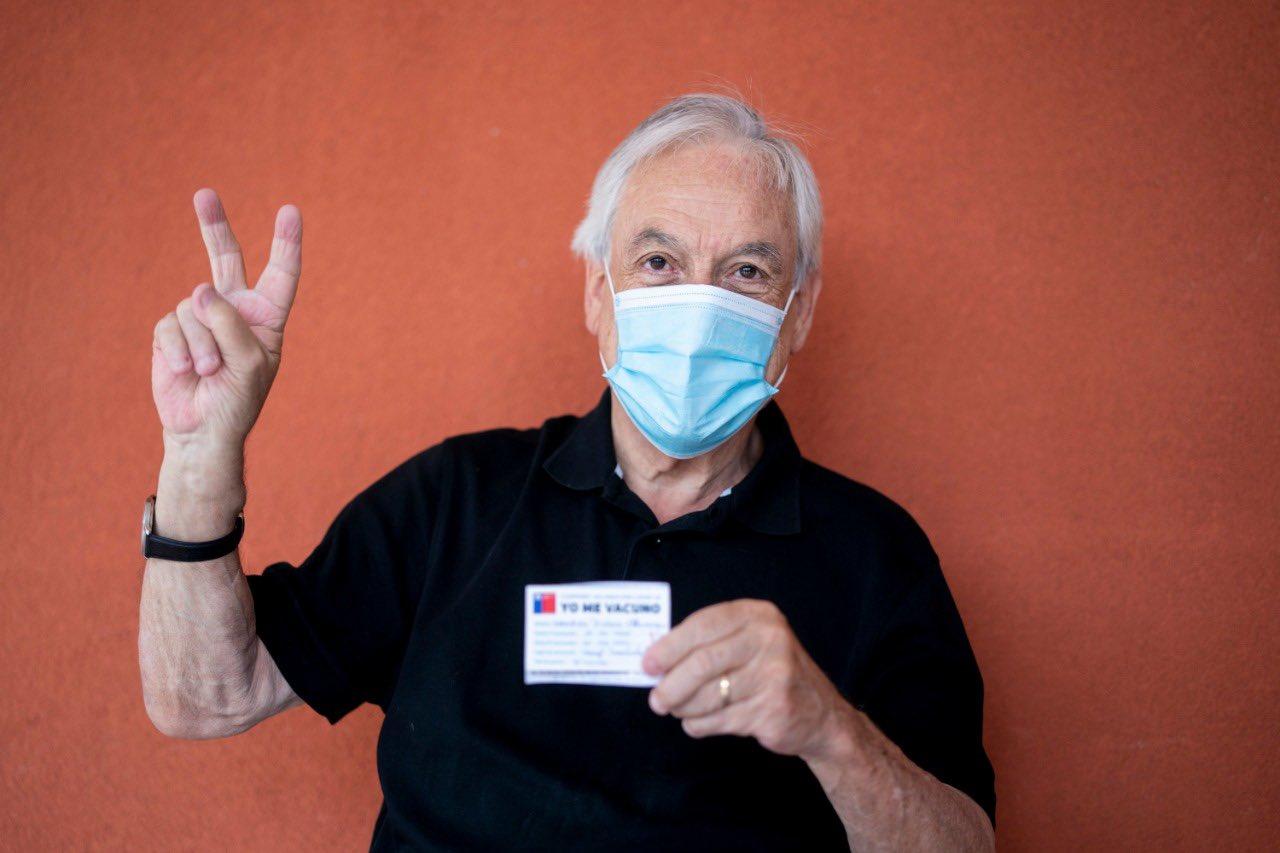 Piñera se adelantó negociando la compra de las vacunas / Foto: @sebastianpinera