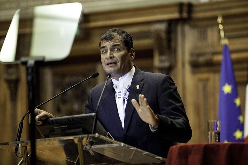 Las elecciones lucen como un referéndum sobre Rafael Correa / Foto: WC