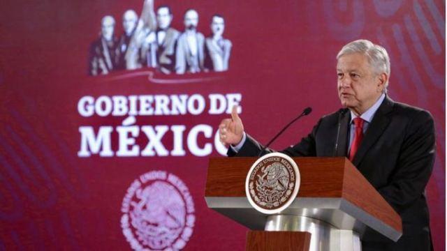 López Obrador insiste en no usar tapabocas / Foto: Presidencia