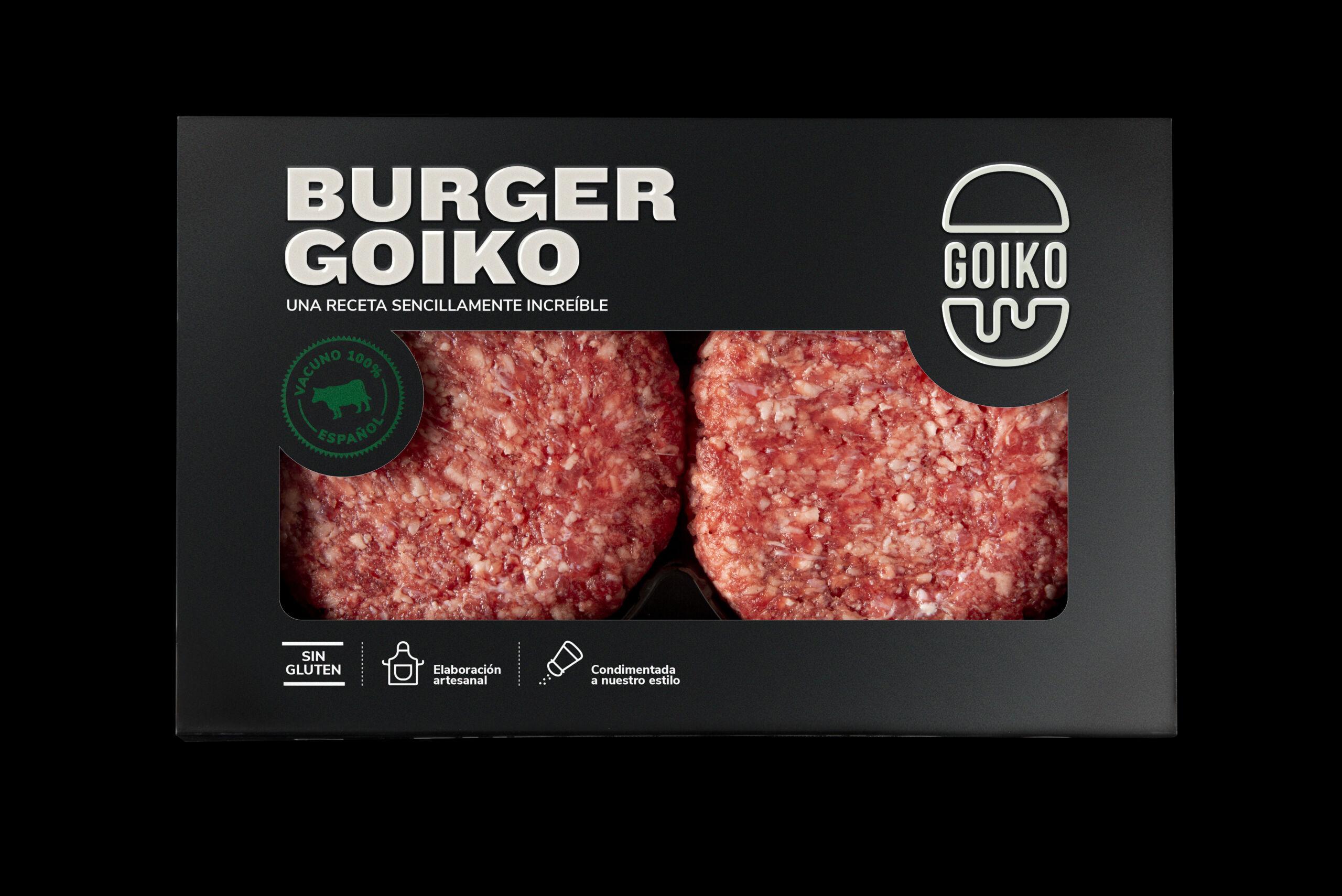 Las hamburguesas de Goiko cuestan 6,69€ en loss supermercados de El Corte Inglés / Foto: Goikocina