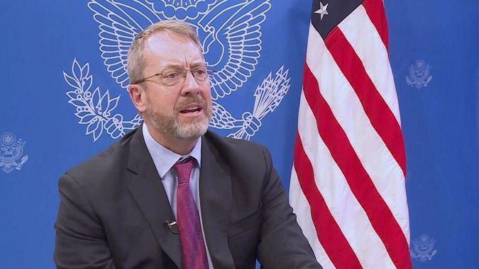 """James Story: """"Las sanciones están para obligar a un cambio de actitud del régimen"""" / Foto: Dept. Estado"""