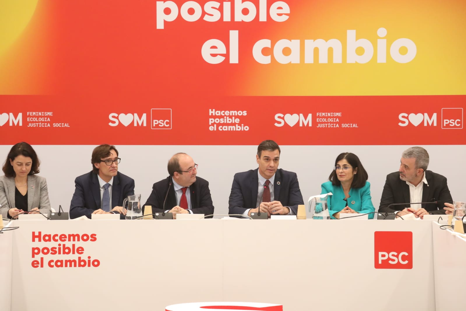 La apuesta de Pedro Sánchez y Salvador Illa es que el independentismo retroceda / Foto: PSC