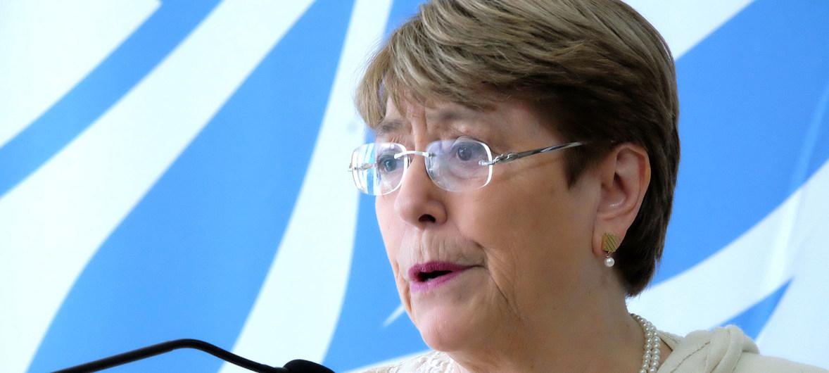 Bachelet le pide a Ortega actualizar el marco jurídico de Nicaragua / Foto: ONU