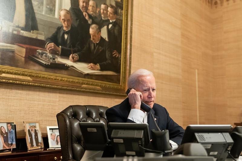 Biden mantiene la orden ejecutiva que sirve de base jurídica para las sanciones contra Maduro / Foto: Casa Blanca