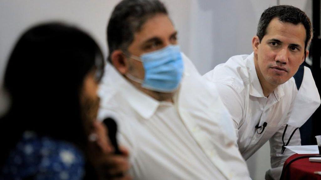 """Guaidó dijo que """"no era factible"""" participar en las elecciones regionales / Foto: Presidencia (E)"""