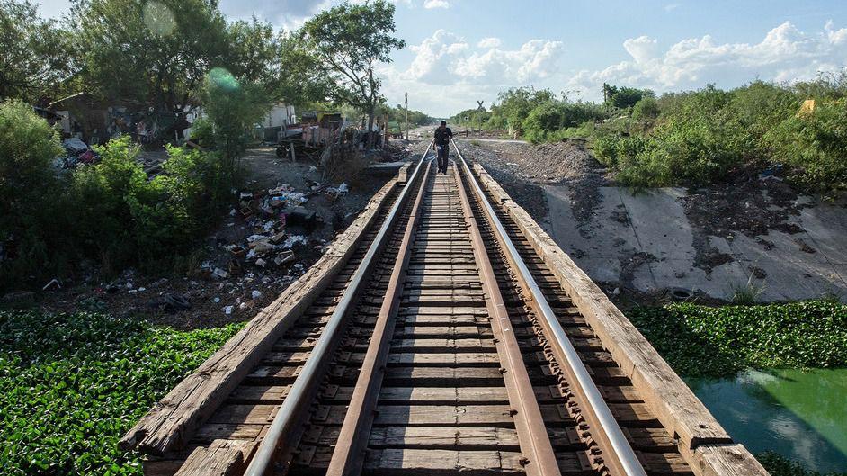 En la frontera de México con EEUU hay venezolanos varados / Foto: ONU