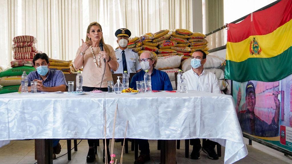 La expresidenta Áñez dice que hay una persecusión del MAS contra ella / Foto: WC