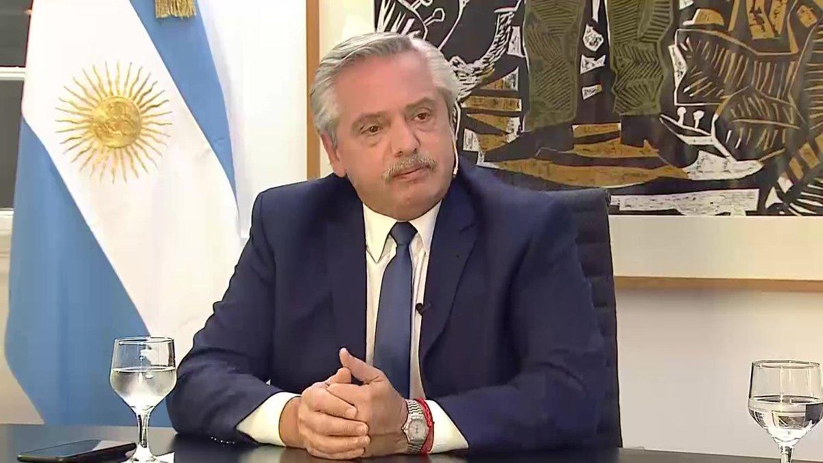Alberto Fernández ha causado un impasse político con Ecuador / Foto: Presidencia