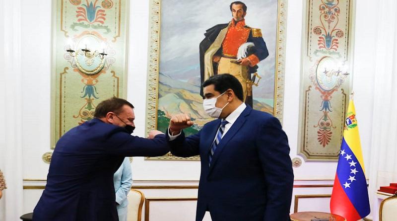 12 acuerdos comerciales firmaron Maduro y Borisov / Foto: Presidencia VE