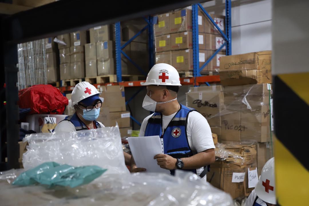 La Cruz Roja Venezolana anuncia el arribo de un nuevo envío de ayuda / Foto: Cortesía