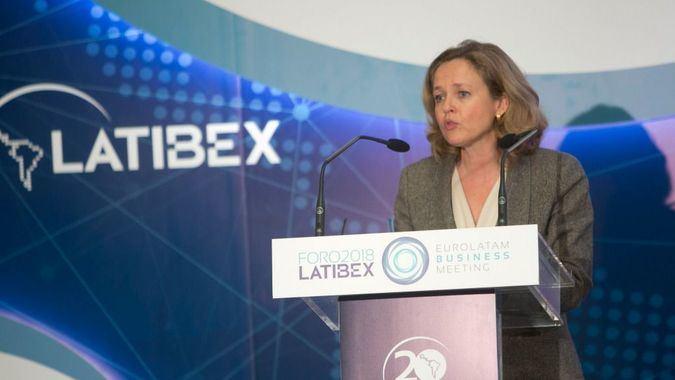 La vicepresidenta Nadia Calviño dirige la gestión económica del gobierno / Foto: BME
