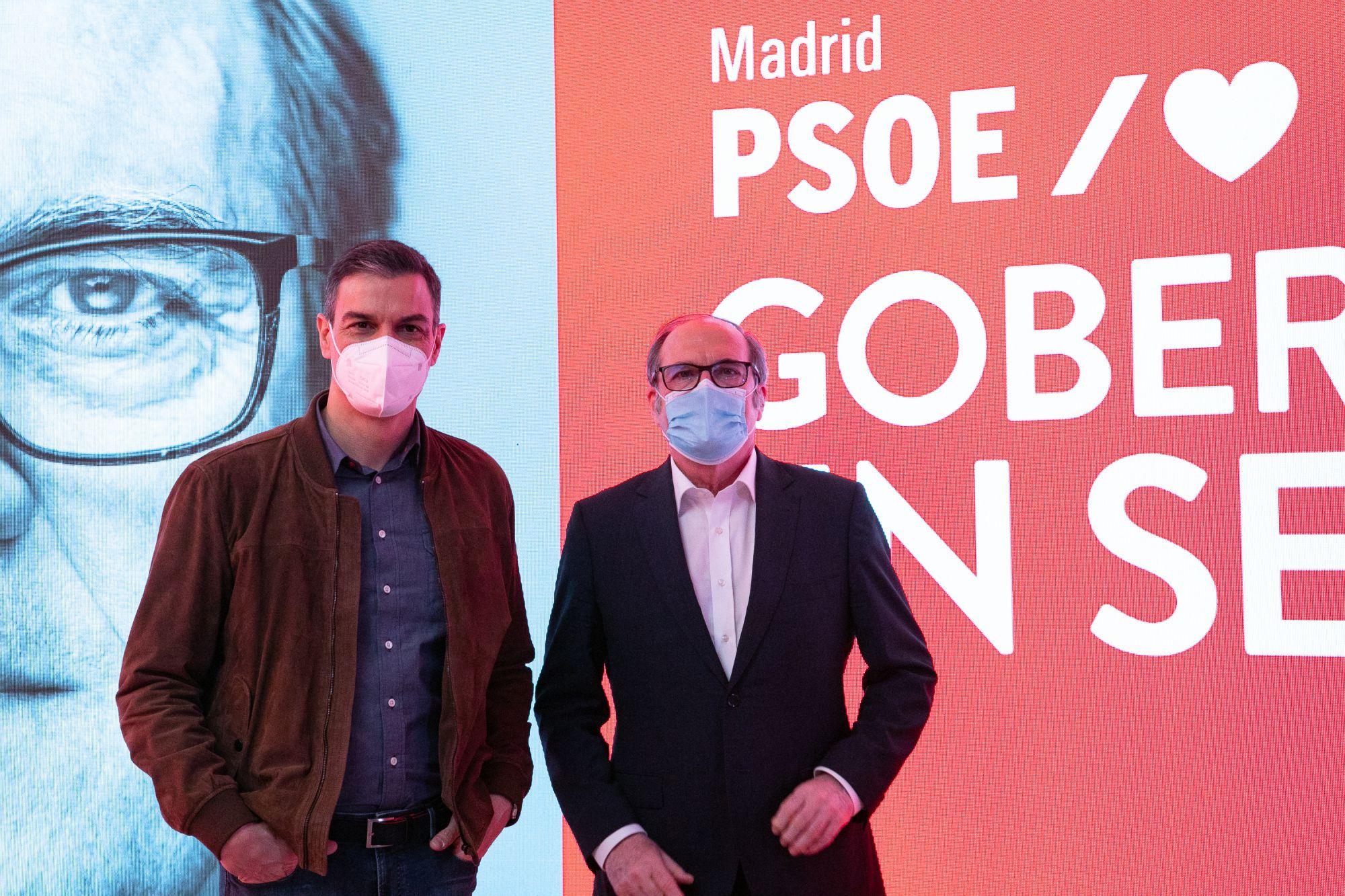 Sánchez respalda a Ángel Gabilondo como cabeza de lista del PSOE en Madrid / Foto: PSOE