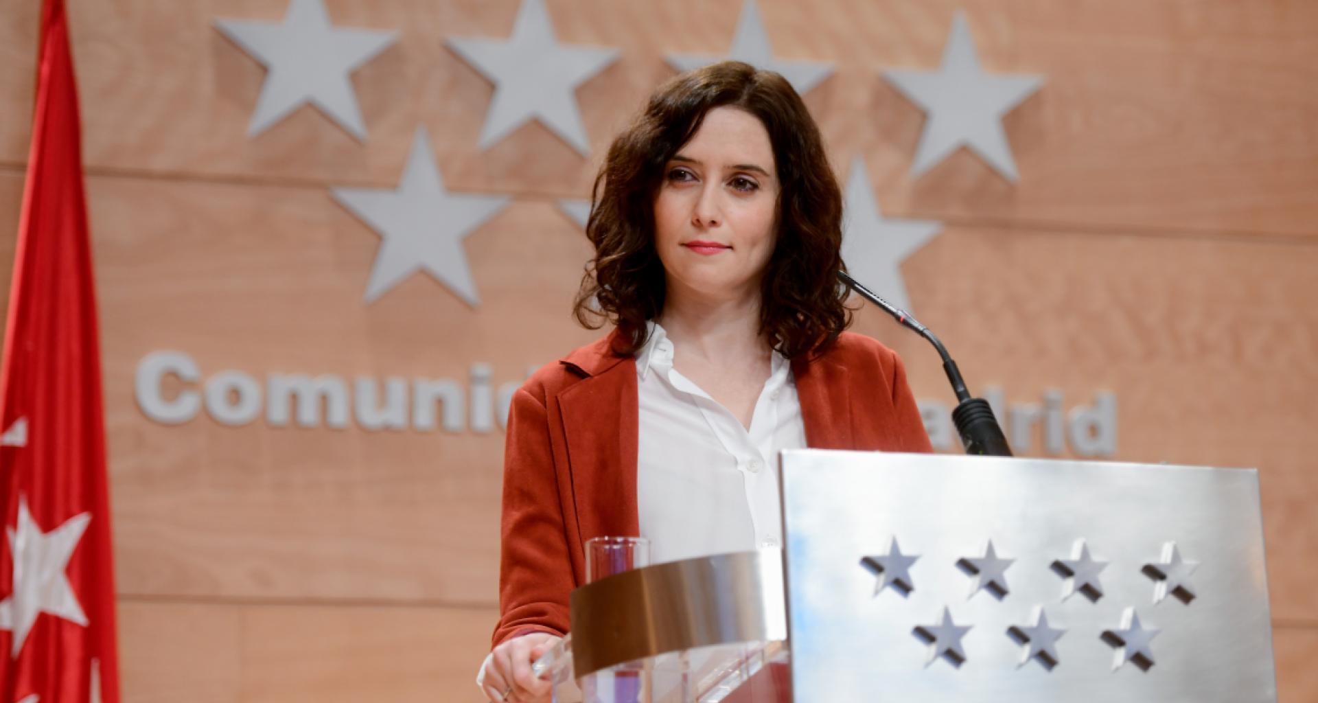 Isabel Díaz Ayuso parte como favorita / Foto: Comunidad de Madrid