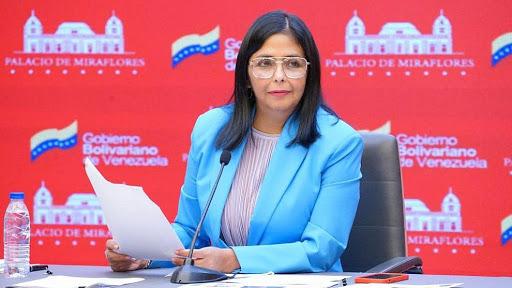 Delcy Rodríguez también está en contacto con los gobiernos de esos países / Foto: Vicepresidencia VE